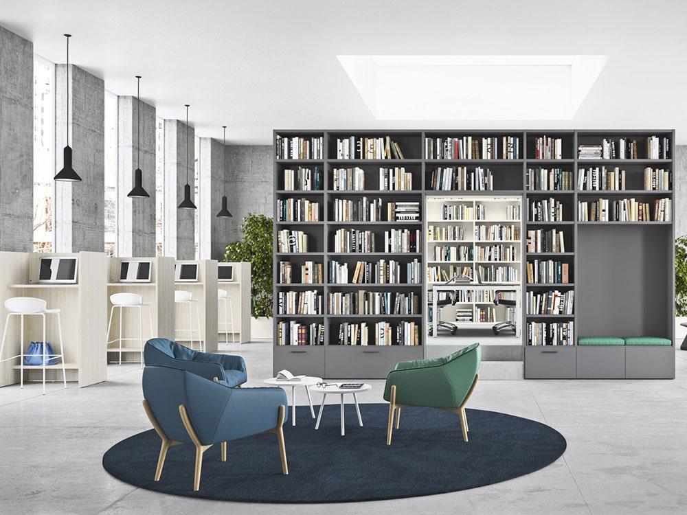 Arredamento Per Ufficio A Ferrara : Arredare lo studio. arredo ufficio mobili per lo studio dallara