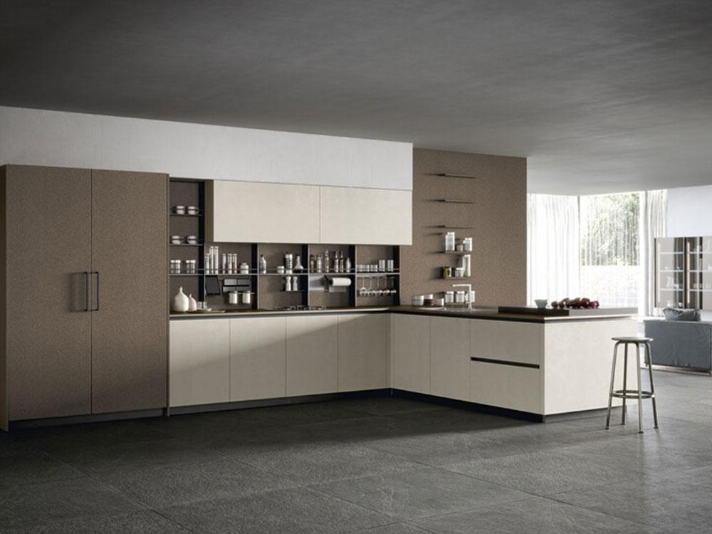 Cucine moderne e componibili ferrara dallara design - Cucine e living ...