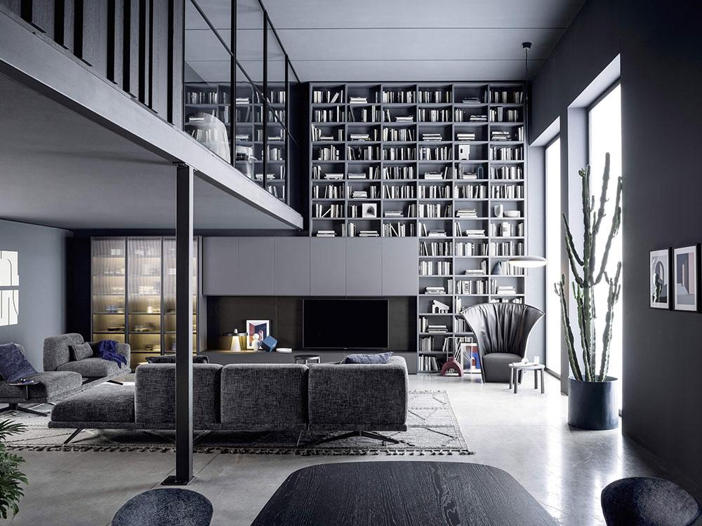 Arredamento Living - Soggiorno - Open Space - Dallara Design
