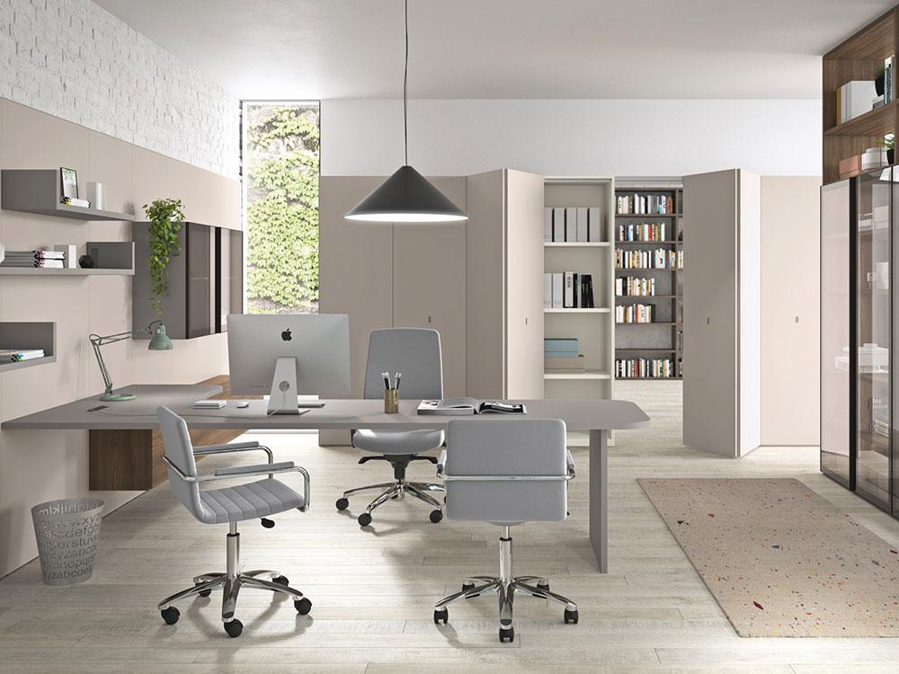 Arredi di design per ufficio e studio dallara design ferrara for Mobili ufficio outlet