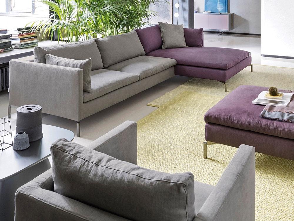 Divani moderni e di design poltrone e pouf dallara for Poltrone divani e divani